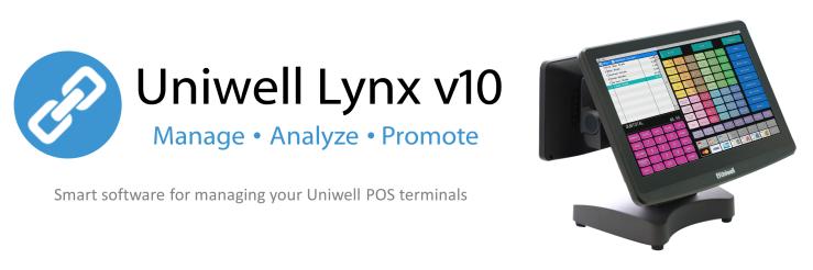Uniwell Lynx POS management software for Adelaide and South Australian venues